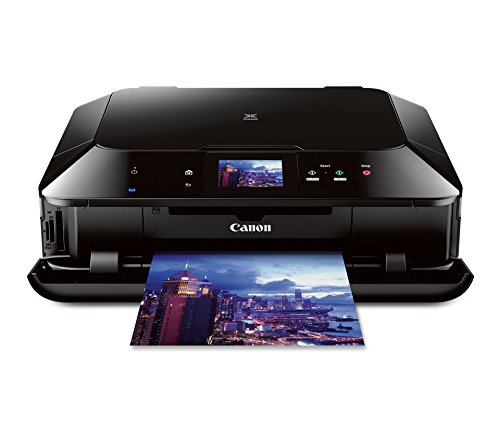 Canon PIXMA MG7120 Wireless Color Photo All-In-One Printer, Black (Discontinued by Manufacturer) (Renewed)