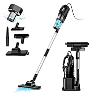 【Powerful Suction】Oneday vacuum cleaner has a super suction of 15000Pa, this vacuum cleaner features deep cleaning, effectively absorb allergens, powerful suction, unlike wireless vacuum cleaners, don't worry about battery, cleaning work and extra co...