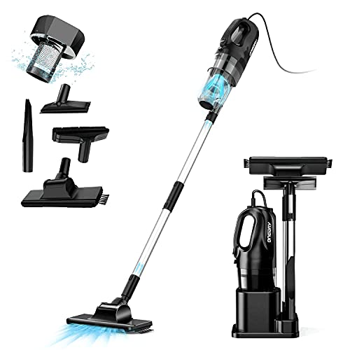 oneday Corded Handheld Stick Vacuum Cleaner 6 in 1 Lightweight Upright Stick Vacuum Cleaners Pro-cyclone with HEPA Filtration [Energy Class A+]