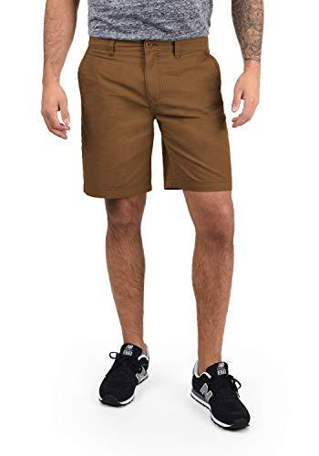!Solid Thement Herren Chino Shorts Bermuda Kurze Hose Aus 100% Baumwolle Regular Fit, Größe:L, Farbe:Cinnamon (5056)