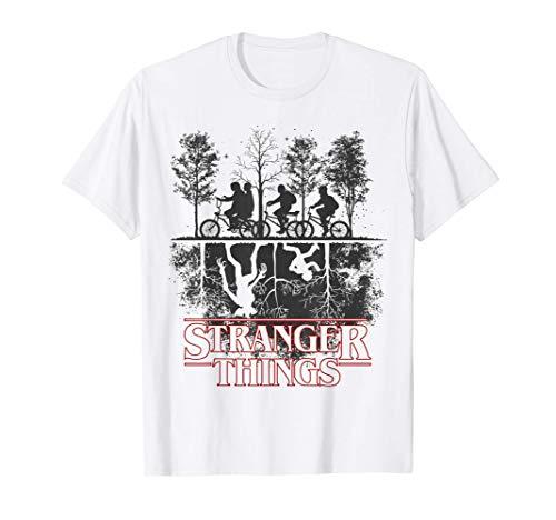 Stranger Things The Upside Down Logo Camiseta