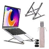 HAIPUSEN Laptop Ständer Neigbar von 20-70°, Faltbare Laptoptänder aus Alu für MacBook Notebook Tablet 14 15 17 Zoll