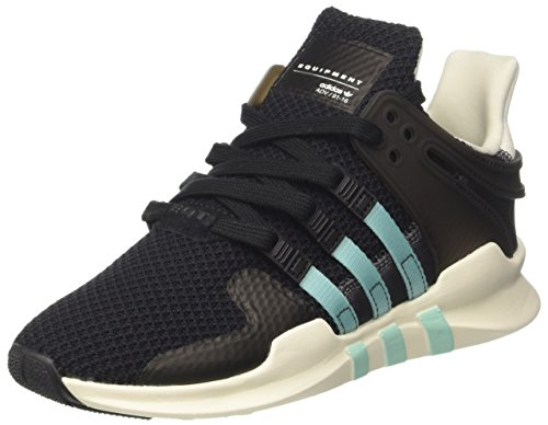 adidas Equipment Support ADV, Zapatillas Mujer, Negro (Core Black/Clear Aqua/Granite), 36 2/3 EU