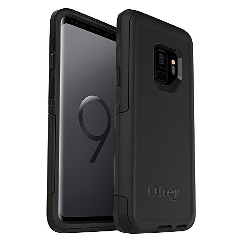 top rated OtterBox COMMUTER SERIES Case for Samsung Galaxy S9 – No Frustration Package – Black 2020