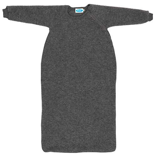 Reiff - Fleeceschlafsack mit Arm 86/92 in fels - erstellt von Wollbody®
