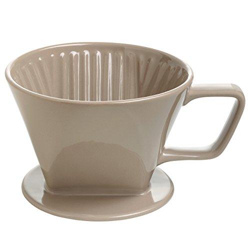 Maxwell & Williams IT51015  Kaffee Filter, Keramik, braun, 185 x 140 x 110 mm