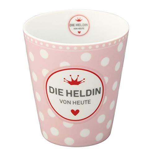 Krasilnikoff HM363 Mug/Becher/Tasse - Die Heldin von Heute - Porzellan - 330 ml