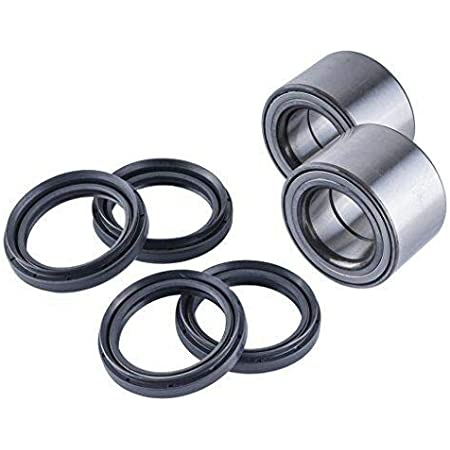 HICKS 43440-84F00 43440-58J00 Rear Wheel Bearing Compatible with Suzuki King Quad 450//700 750 2006 2007 2008 2009