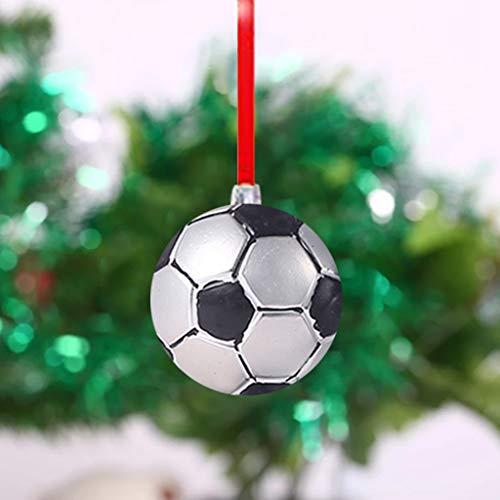 Little Story Christmas Tree Decorat 6cm Christmas Ball Football Baseball Football Basketball