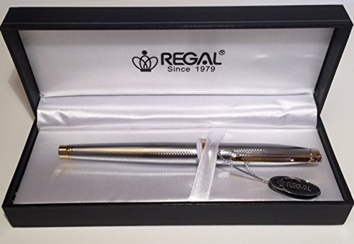 Regal Executive ligero cromado pluma...
