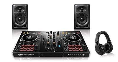 Pioneer Pro DJ Bundle with DDJ-400 + DM-40 Set + HDJ-X5 Headphones
