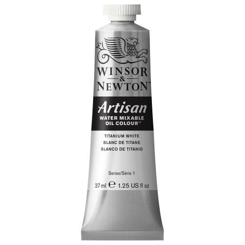 Winsor & Newton 1514644 37ml Artisan -leos miscibles en Agua de Color Blanco de Titanio