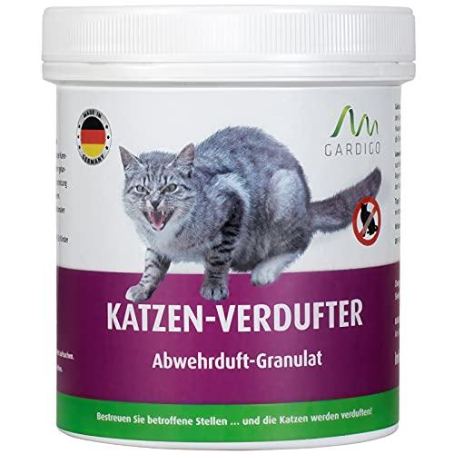 Gardigo Katzen-Verdufter Granulat - 300g I Made in Germany I Katzenabwehr für Haus, Garten, Garage und Grundstück
