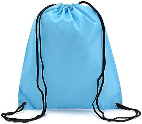 Teamoy Kordelzug-Rucksack aus Nylon Faltbare Tasche für Sport
