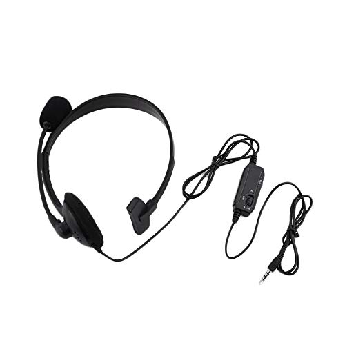 Wired Gaming headset hoofdtelefoon microfoon microfoon microfoon chat voor de Play Station 4