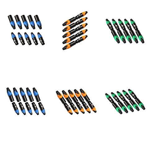 perfeclan 15 Pares de Conectores XLR de 3 Pines para Hacer Bricolaje, Cable de Enchufe, Enchufe Soldado, Colorido