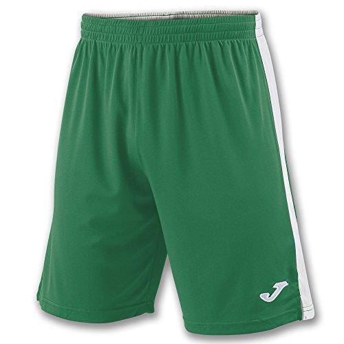 Joma Tokio II Pantalones Cortos, Hombre, Multicolor (Verde/Blanco), M