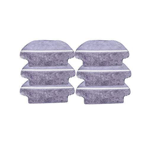 Accesorios para Aspiradora Rodillo principal Brush Cepillo lateral filtro de HEPA for Conga 3490 4090 Aspirador de la fregona de trajes Rags for Xiaomi Mijia STYJ02YM Parts ( tamaño : 6 dry wet mop )