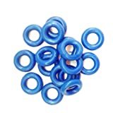 iWDF 100pieces Junta tórica Seals 6 de 3,5 mm * for los Kits de reparación Inyector de Combustible/reconstruir Kits (AY-O2215)