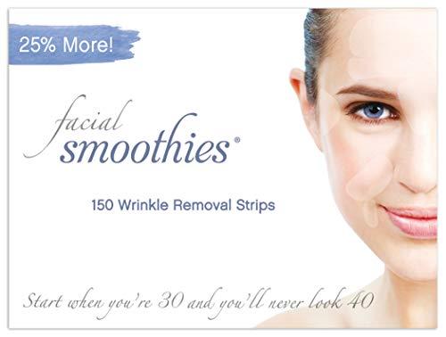 Facial Smoothies zijn rimpels verwijderende pleisters - anti-rimpel - anti-aging behandeling - anti-rimpels