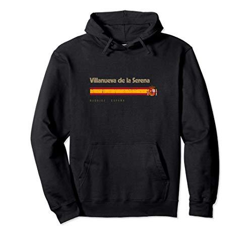 Villanueva de la Serena Ciudad Española Bandera España Sudadera con Capucha