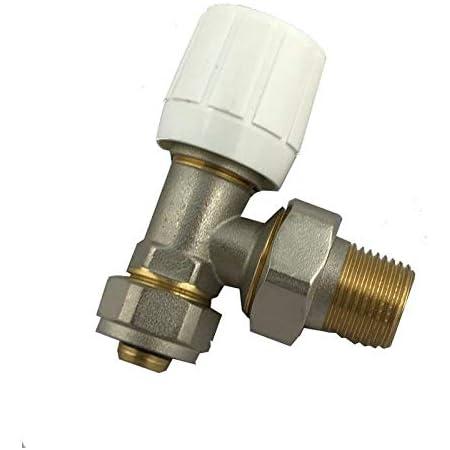 "Válvula de radiador PEX/ALU/PEX 16mmx1/2"" sistema Wärmer PSW Trade SUPPLIERS LTD"