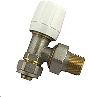 Válvula de radiador PEX/ALU/PEX: 16 mm x 1/2