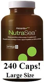 Nutra Sea Fish Oil (240 Capsules) (Fish Body Oil for Omega 3s) NutraSea Herring Oil by Ascenta Brand: Ascenta Health