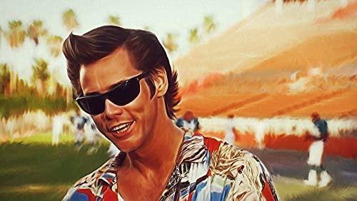 znwrr Ace Ventura Movie Posters Puzzle 1000 Piezas, Apto para Adultos y niños Puzzle a Partir de 6 años, Juego de Habilidad para la Familia, Colección 38x26cm