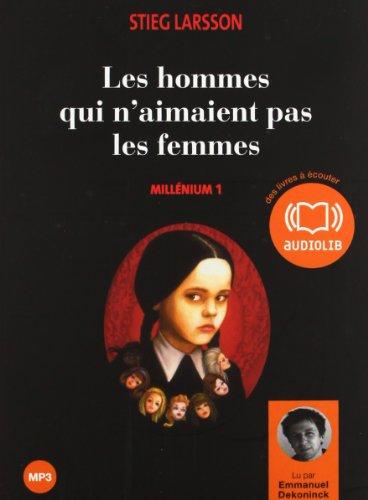 Les hommes qui n aimaient pas les femmes - Millénium 1: Livre audio 2 CD MP3 et un livret 4 pages 641 Mo + 617 Mo