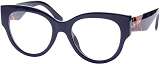 SOOLALA Ladies Modern Fashion Prescription Eyeglass Frame Cat Eye Reading Glass