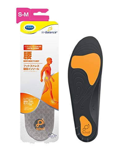 Insole, Footbed, Dr. Shawl, Inbalance, Foot Stress Absorbing Insole, Lumbar, S-M