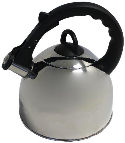 Imperial Easycook Bouilloire sifflante Poignée Bakelite Argent/noir 2 L