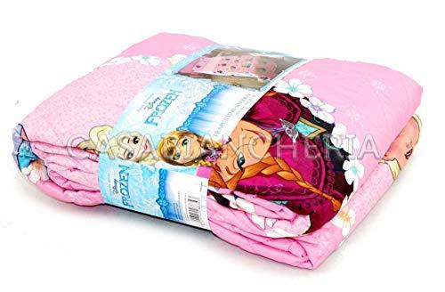 G&C ENTERPRISE S.P.A Copriletto Trapuntato Disney Frozen Rosa 170 X 250 CM