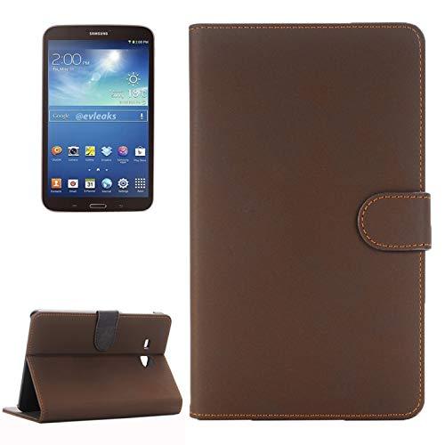 Dmtrab para Para Samsung Galaxy Tab A 7.0 (2016) / T280 Case, Funda Protectora de Cuero de Cuero Horizontal de Material Antiguo con Titular (Marrón) Casos de la Tableta Galaxy (Color : Coffee)