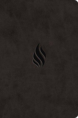 ESV Value Compact Bible (TruTone, Midnight, Flame Design)