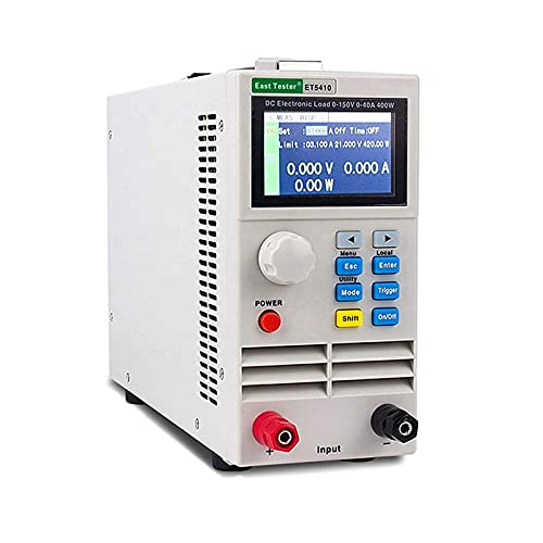 ET5410 400W DC Electronic Load Tester, Programmable Single...