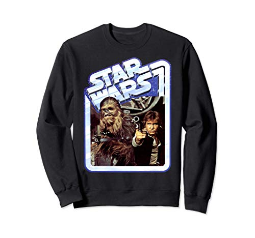 Star Wars Chewbacca & Han Solo Smugglers Stand Sweatshirt