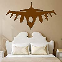 Zaosan Tatuajes de Pared avión avión Militar Vinilo calcomanía Artista residencia decoración