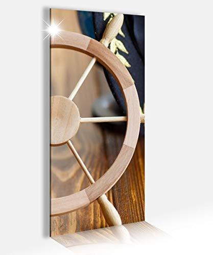 Acryl Afbeeldingen 40x100cm Zee Stuur Kapitein Schip op Bord Anker Acryl Beeld Acryl Glas Beeld Print Acryl Acryl Afbeeldingen 14A9306