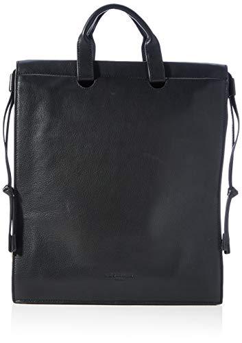 Liebeskind Berlin Damen Jill Backpack Rucksackhandtasche, Black, Medium