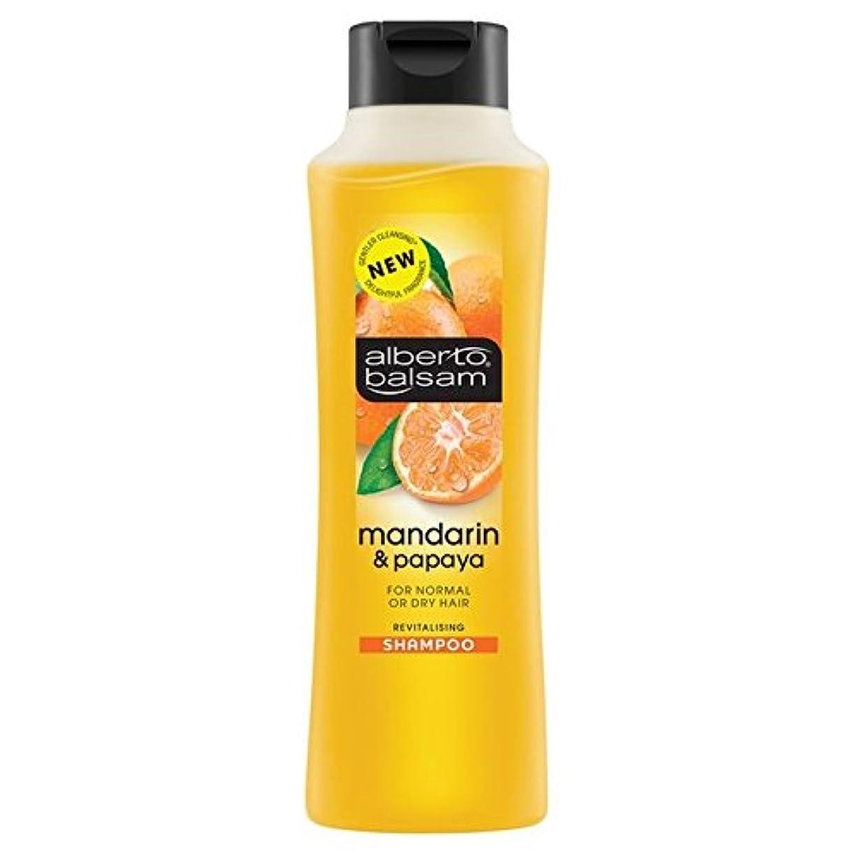 の堀準拠Alberto Balsam Mandarin & Papaya Shampoo 350ml - アルベルト?バルサムマンダリン&パパイヤシャンプー350ミリリットル [並行輸入品]