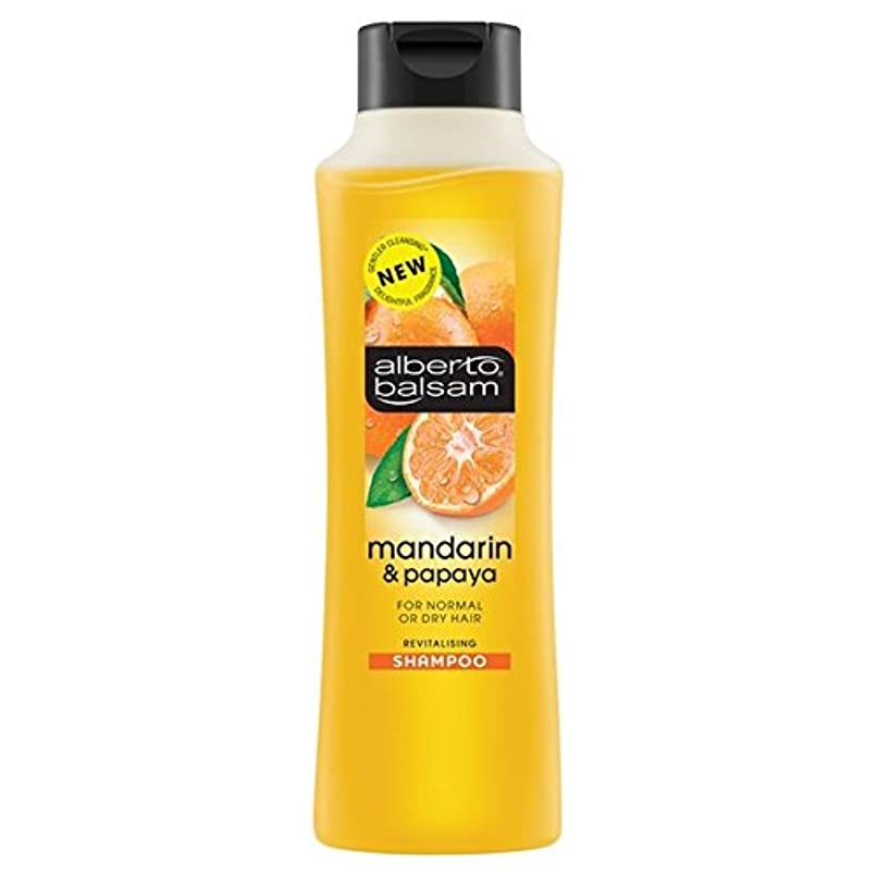さらに祖先叱るAlberto Balsam Mandarin & Papaya Shampoo 350ml - アルベルト?バルサムマンダリン&パパイヤシャンプー350ミリリットル [並行輸入品]
