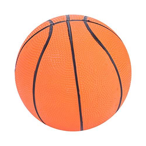Weikeya Mini Baloncesto, Calidad de goma Mini juguete de baloncesto de goma hecha (naranja)