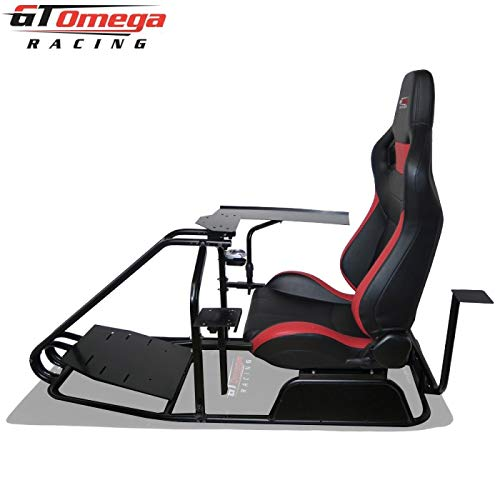 GT OMEGA PRO Racing Simulator Cockpit Basic - RS6 SEAT