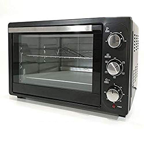 Forno elettrico xxl capienza massima 35 litri colore nero ventilato cottura sotto sopra elettrodomestici casa