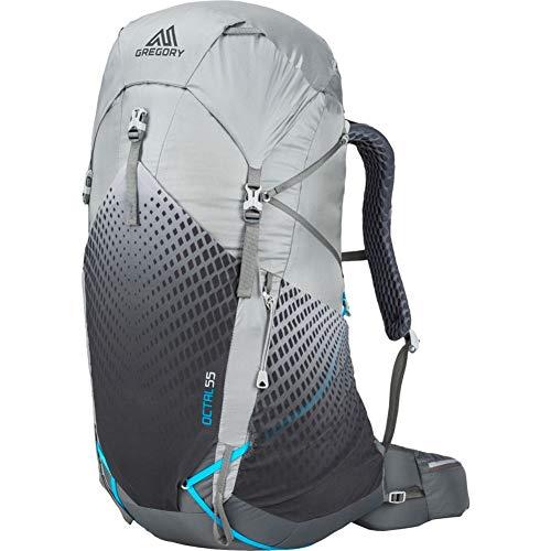 Gregory Mountain Products Octal 55 litros mochila de senderismo ultraligera para mujer, color Gris Escarcha - Mediana, tamaño talla única