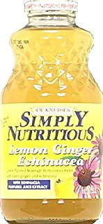 simply nutritious lemon ginger echinacea