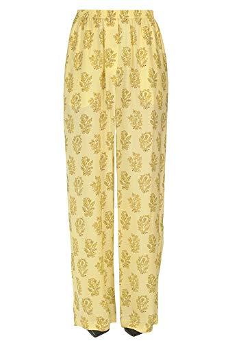 ACNE STUDIOS Luxury Fashion Damen MCGLPNP0000C7081E Gelb Polyamid Hose | Jahreszeit Outlet