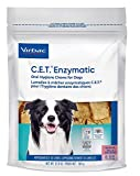Virbac C.E.T Enzymatic Oral Hygiene Large Dog Chews, 90-Chew, by Virbac